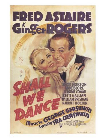 Shall We Dance, 1937 Art Print