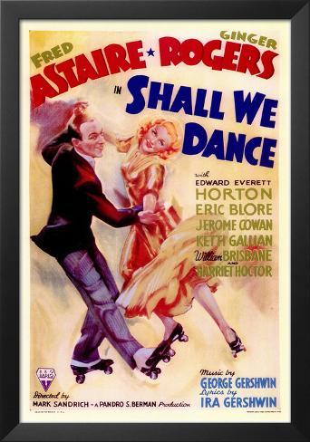 Shall We Dance Framed Art Print