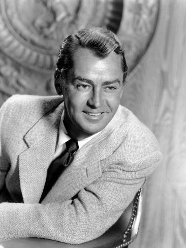 Shane, Alan Ladd, 1953 Photo