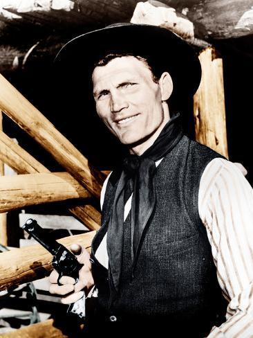 Shane, Jack Palance, 1953 Photo