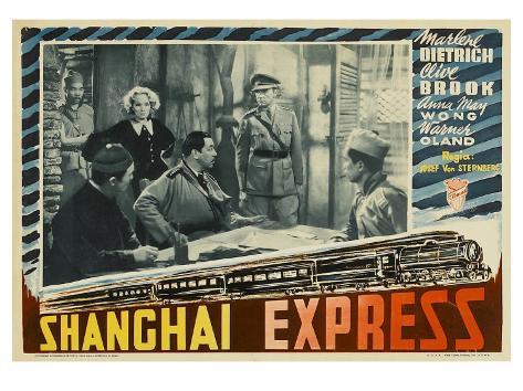 Shanghai Express, 1932 Impressão artística
