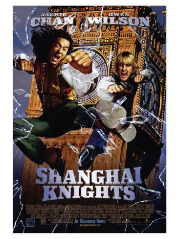 Shanghai Knights, 2003 Stretched Canvas Print