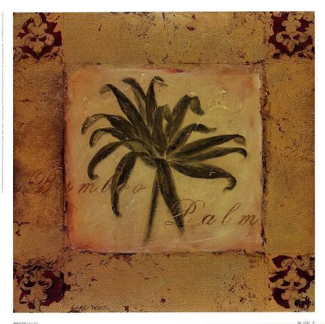 Bamboo Palm Art Print