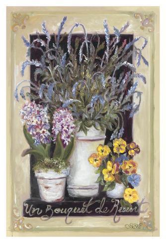Un Bouquet De Ressort Art Print