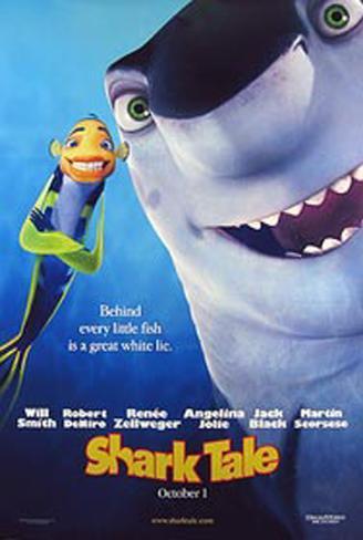 Shark Tale Original Poster