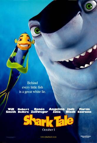 Shark Tale Double-sided poster