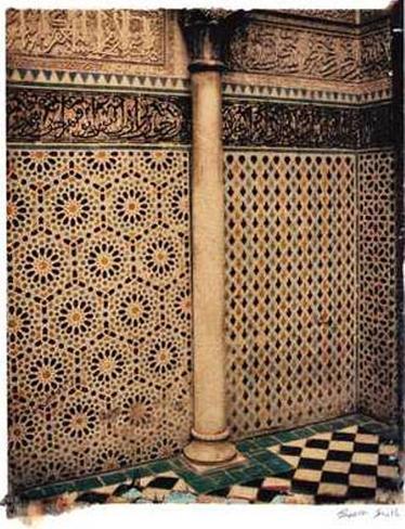 Morrocan Tiles Art Print