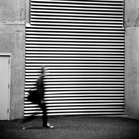 Street Haiku Photographic Print