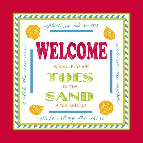 Beach Sand Art Print