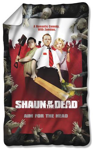 Shaun Of The Dead - Poster Fleece Blanket Fleece Blanket