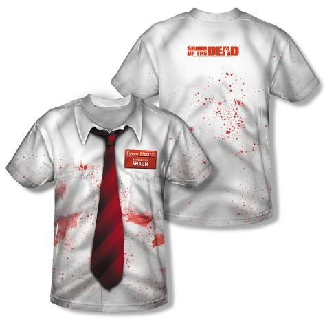 Shawn Of The Dead - Bloody Shirt (Front/Back Print) Sublimated