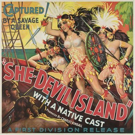 She-Devil Island Poster
