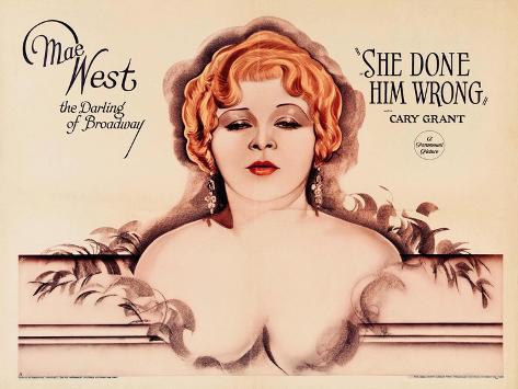 She Done Him Wrong, 1933 Gicléetryck