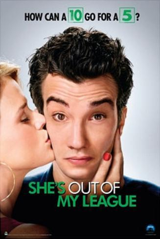 She's Out of My League Movie (Kiss) Poster Print Poster