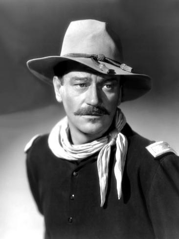 She Wore a Yellow Ribbon, John Wayne, 1949 写真