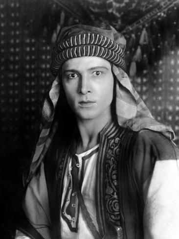 Sheik, Rudolph Valentino, 1921 Photo