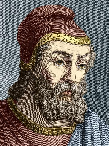 Archimedes, Greek Mathematician Photographic Print