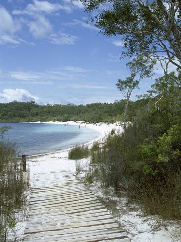 Lake Mckenzie, Fraser Island, Unesco World Heritage Site, Queensland, Australia Photographic Print
