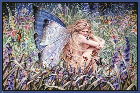 Sheila Wolk Field of Dreams Art Print Poster Poster