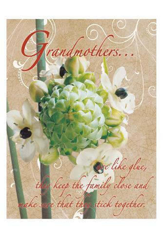 Grandmothers Glue 1 Art Print
