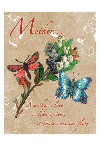 Mothers Love 1 Art Print