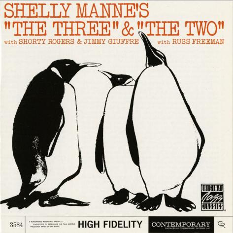 """Shelly Manne, """"The Three"""" and """"The Two""""Shelly Manne, """"The Three"""" and """"The Two"""""""