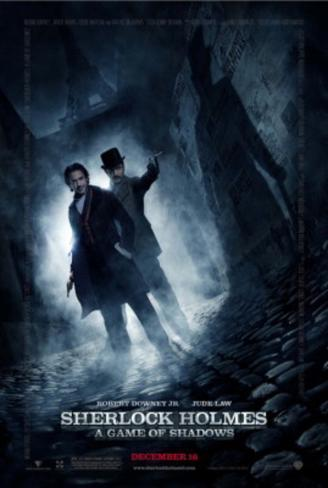 Sherlock Holmes - A Game of Shadows (Robert Downey Jr., Jude Law) Movie Poster Double-sided poster