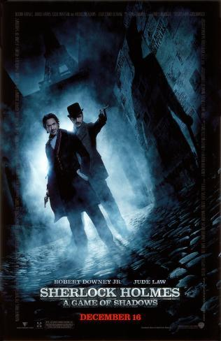Sherlock Holmes A Game of Shadows Masterprint