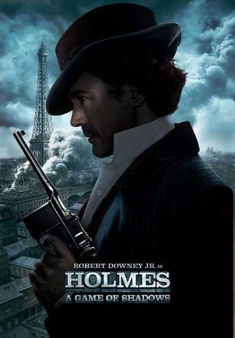 Sherlock Holmes A Game of Shadows Masterprint