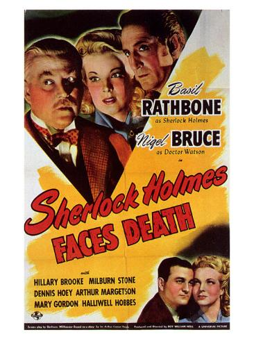 Sherlock Holmes Faces Death Art Print