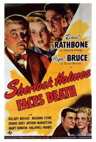 Sherlock Holmes Faces Death Poster