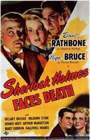 Sherlock Holmes möter döden Masterprint