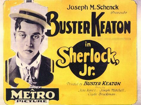 Sherlock, Jr., 1924 Art Print
