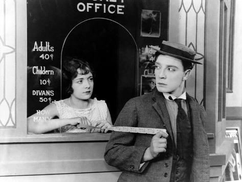 Sherlock Jr., Buster Keaton, 1924 Photo