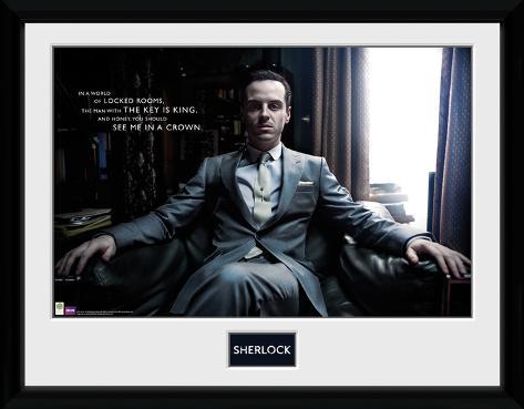 Sherlock- Moriarty Reclining Collector Print