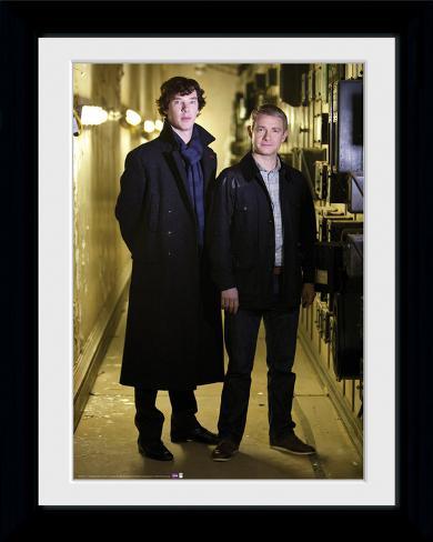 Sherlock- Team Sherlock Portrait Collector Print