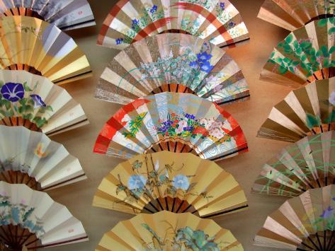Folding Fan, Kyoto, Japan Photographic Print