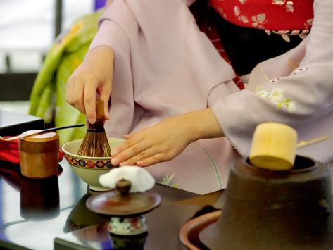 Tea Ceremony, Kyoto, Japan Photographic Print