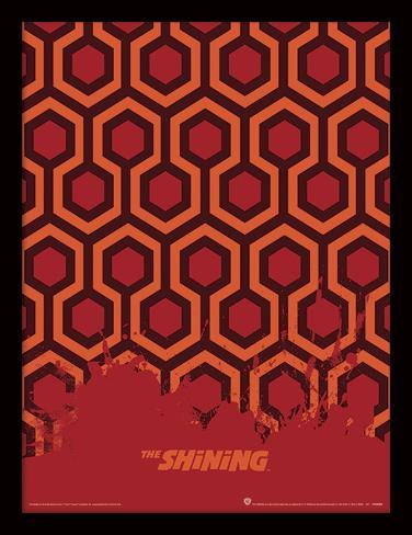 Shining - il tappeto Stampa del collezionista