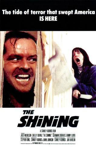 Shining - Jack Nicholson Stampa master