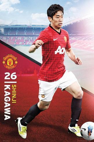 Shinji Kagawa - Manchester United Poster
