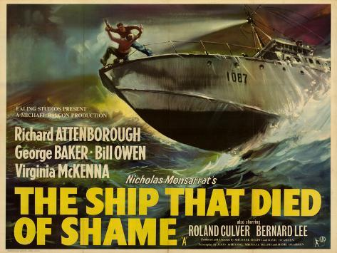 Ship That Died of Shame (The) Art Print