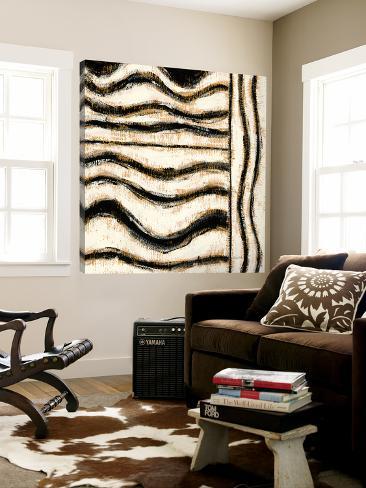 Black and Gold Geometric VI Loft Art