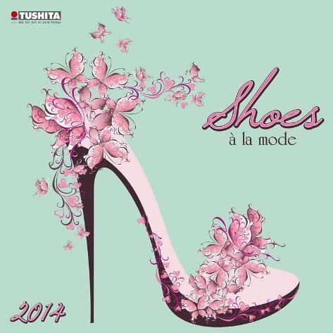 Shoes de la Mode - 2014 Calendar Calendars