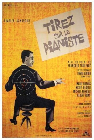 Shoot the Piano Player - Foreign Style Poster