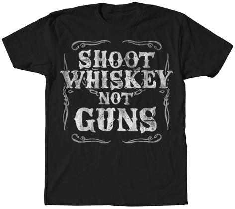 Shoot Whiskey T-Shirt