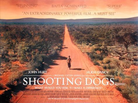 Shooting Dogs Original Poster