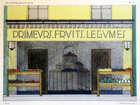 Shop Front Giclée-vedos