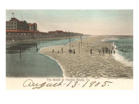 Shore, Virginia Beach, Virginia Art Print