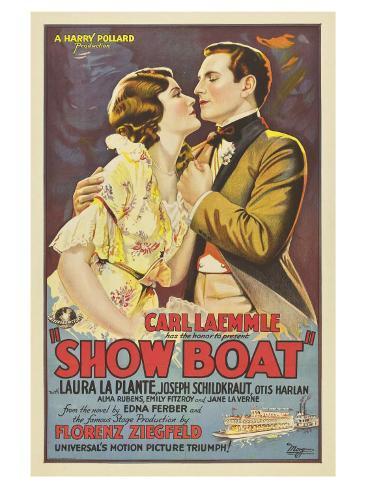 Show Boat, 1936 Art Print